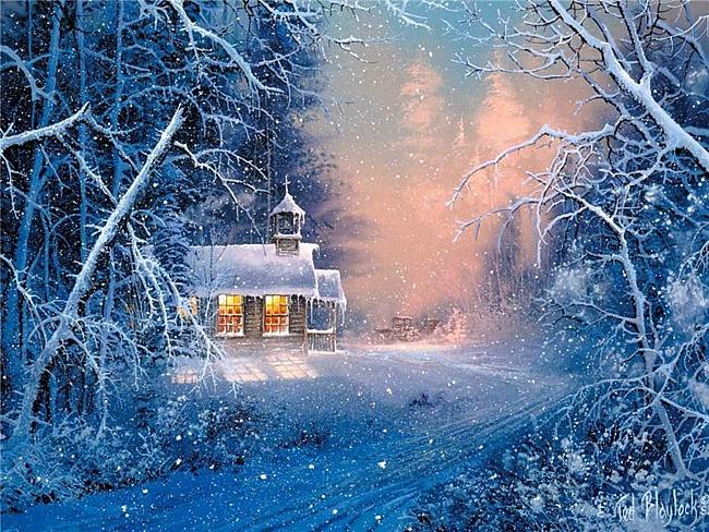 сказочная зима 6