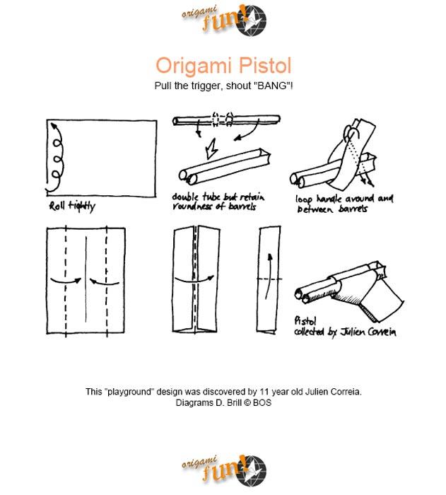 Как сделать автомат оригами из бумаги видео - ПОРС Стройзащита