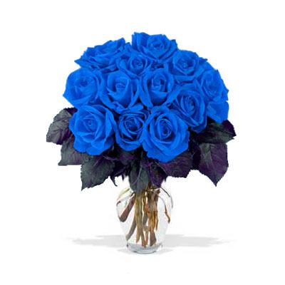 Японцы вырастили синие розы.