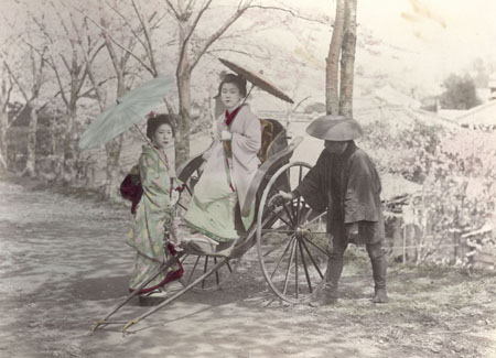 Японская фотография конца 19 века.