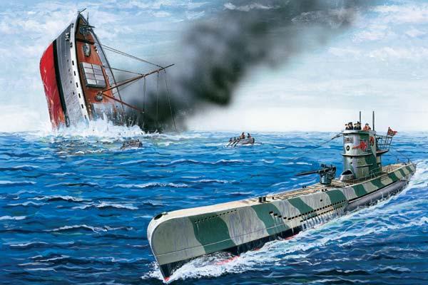 корабль серия с лодкой