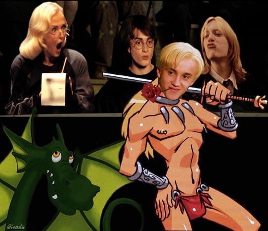 и хогвартса 6 драко глава шлюхи малфой