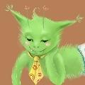 Ксана, зеленый человечек