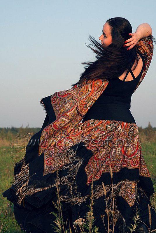 платье из платка купона как сшить.