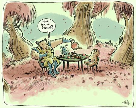 DrawerGeeks: Wolverine.