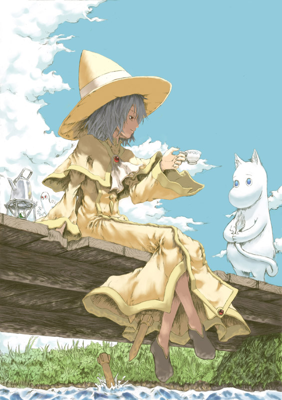 аниме замужняя девушка волшебница: