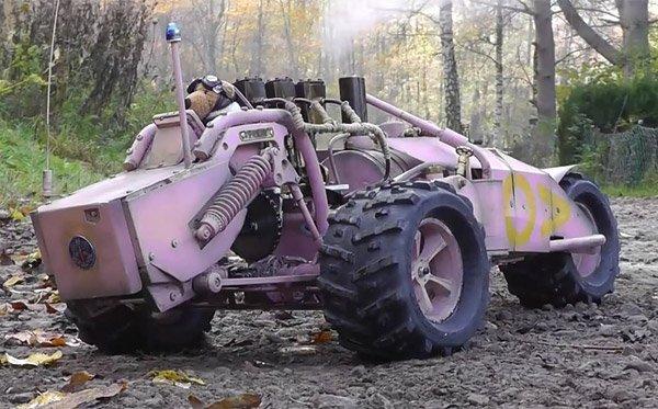 Паровой автомобиль своими руками видео