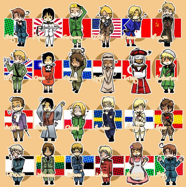 аниме флаг
