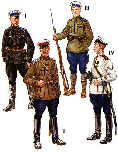 Форма чинов партизанской генерала