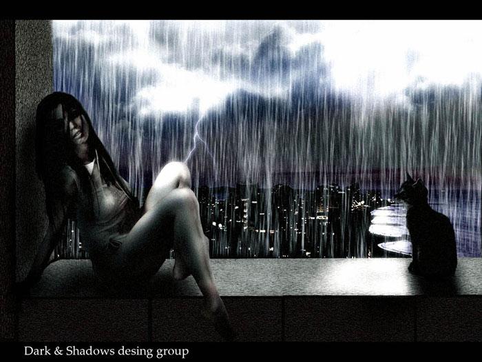 """Ворвался ветром майский дождь В мое окно.И вазу мне разбил.  А я отметила:  """"На счастье.  Как пахнет зелень мокрая в..."""