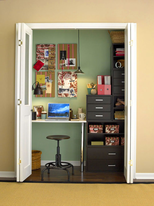 Как сделать рабочее место в маленькой комнате - Val-spb.ru