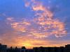Закат, вид из моего окна 1