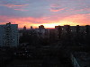 Закат, вид из моего окна 2