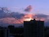 Закат, вид из моего окна 5