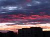 Закат, вид из моего окна 10