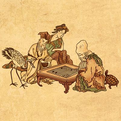 Иллюстрации древний китай