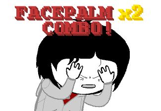 Facepalm 2x Combo
