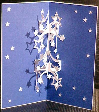 киригами, открытки pop-up,