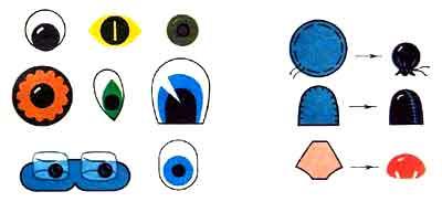 Как сделать глаз из бумаги своими руками