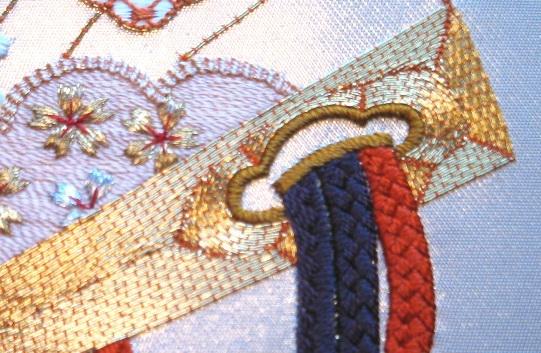 Вышивка бисером вприкреп на проволоке 100