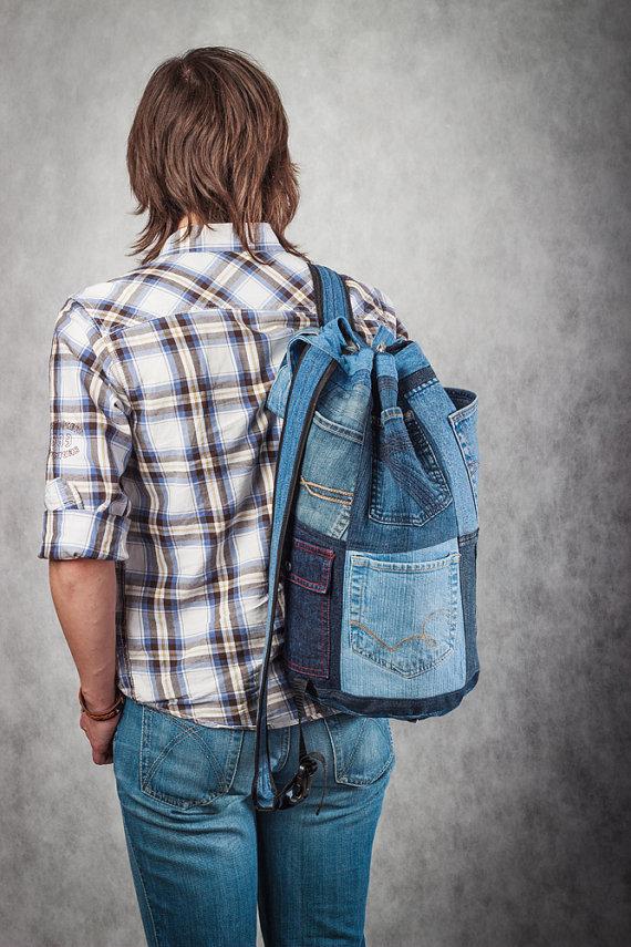 Рюкзаки джинсовые мужские своими руками 73