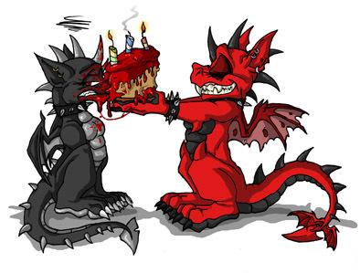 Дракон поздравления с