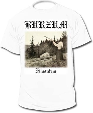"Купил футболку  ""Burzum """