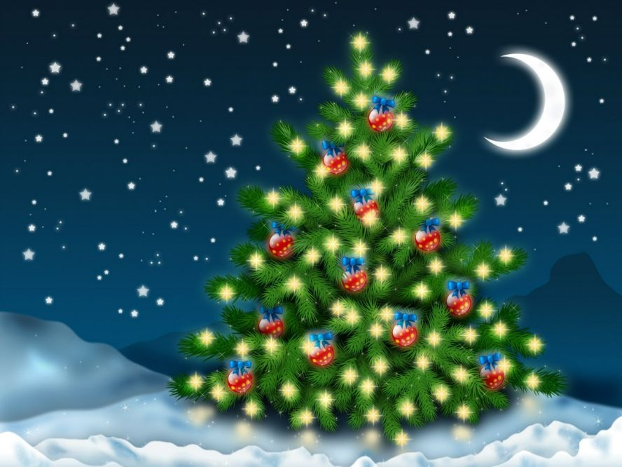 Бесплатные анимационные открытки с новым годом