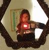 Фоткаю себя в зеркало