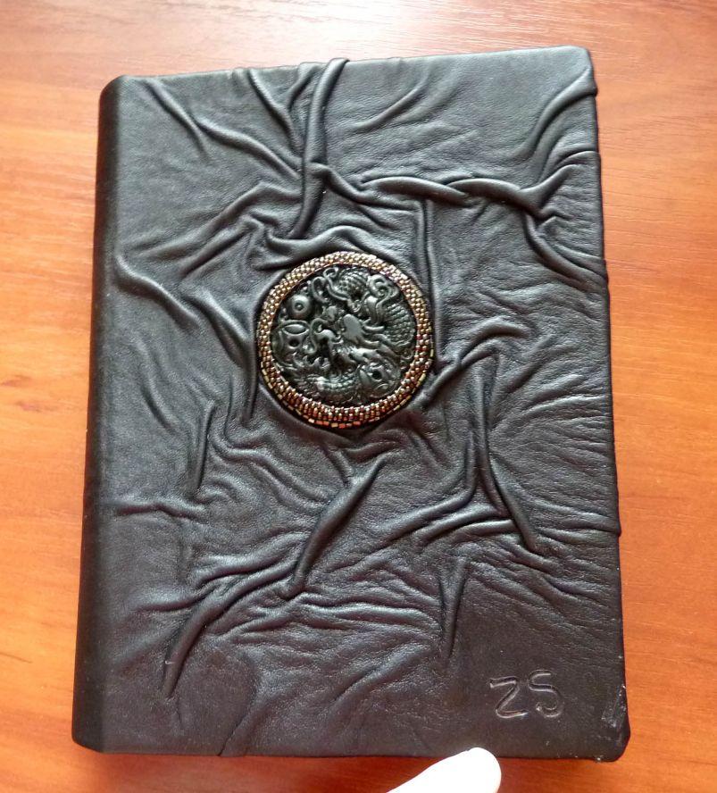Как сделать кожаную книгу своими руками