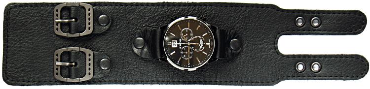 Делаю кожаные браслеты для часов с 2-мя пряжками - @аукцион