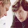 Безумный Шерлок, влюбленный в Каса и Мерлина