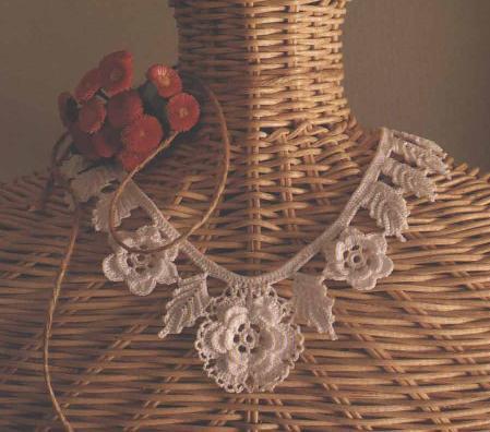 и вязаной бижутерии