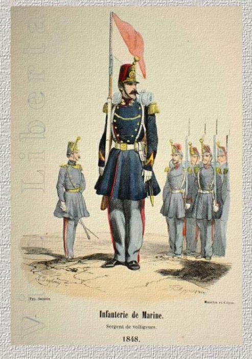 Военная форма французской регулярной