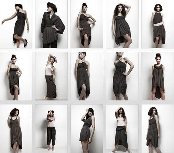 Для пошива платья-трансформера