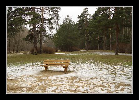 Снег встречается только на открытых