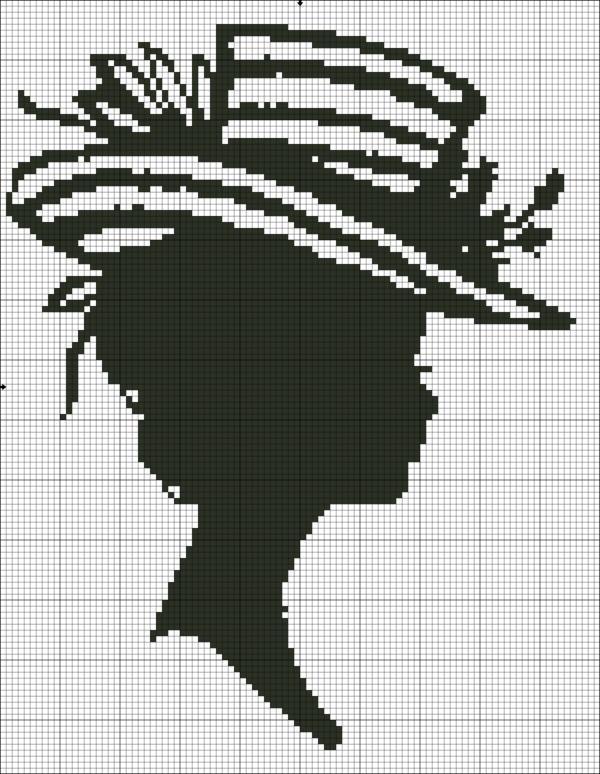 Рхема вышивки Серия Графика