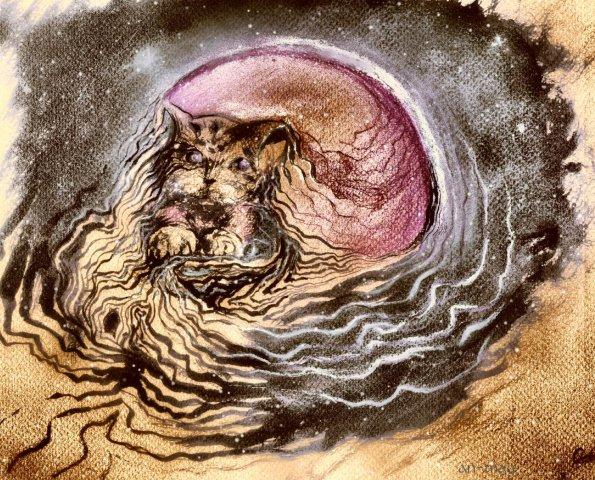 лунные линии мечтаний внутри