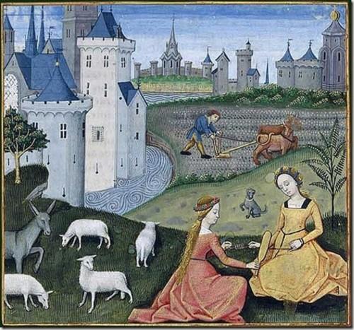 Секс в графике средние века