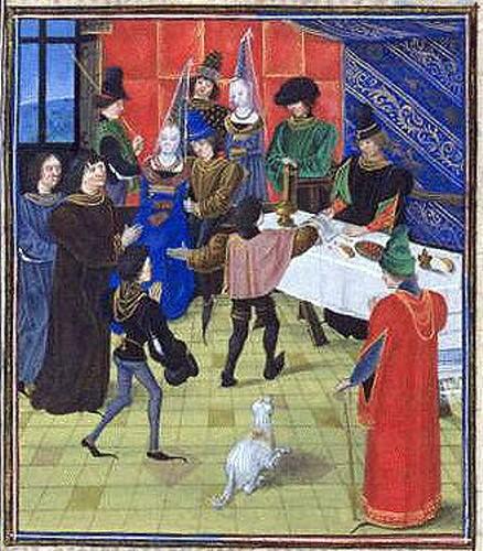 Сексуальные забавы в средневековье
