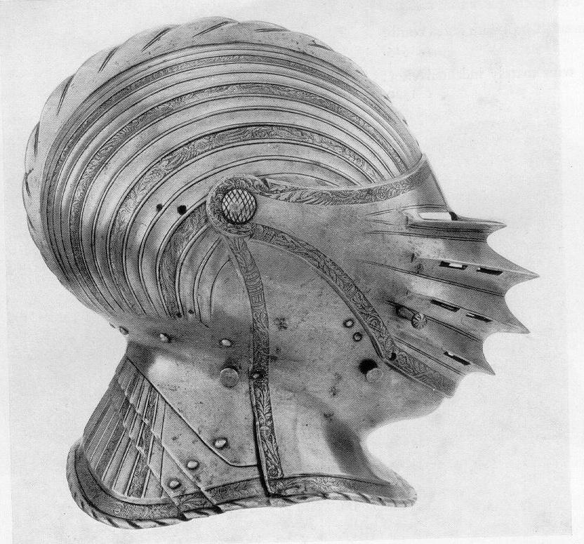 Эволюция Рыцарских Шлемов