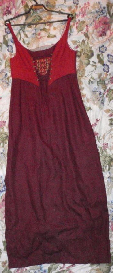Платье в этно стиле.
