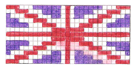 Британский флаг - Я плету