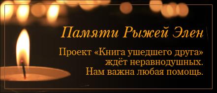 Памяти Рыжей Элен