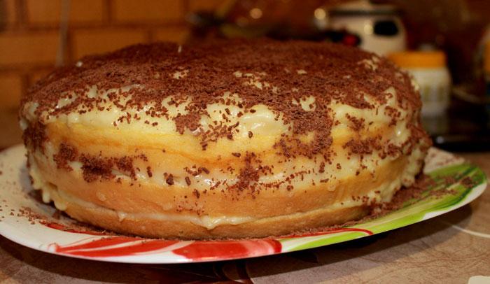Заварной бисквит в мультиварке рецепты с фото