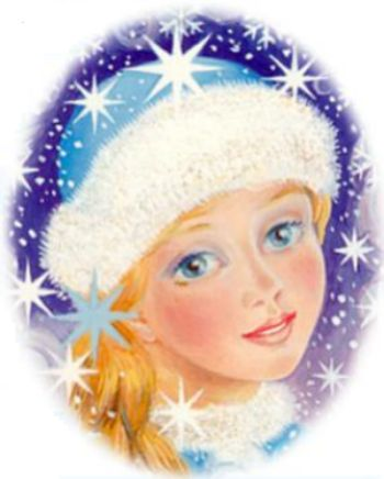 Прикрепленные изображения. моя снегурка. бунтарка.не учавствует в конкурсе.