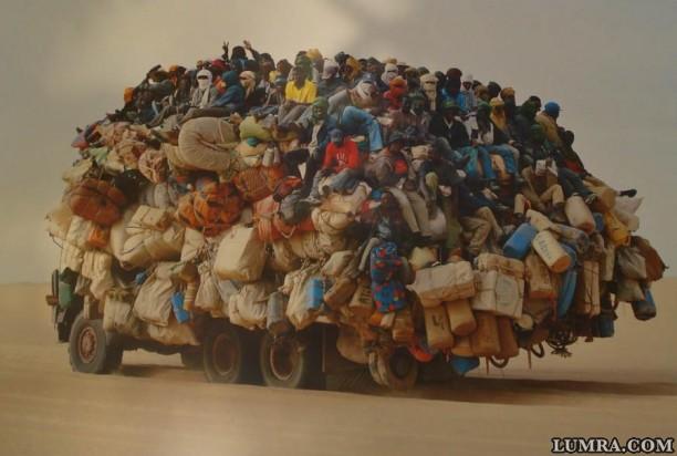 Маршрутка в западной сахаре