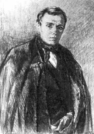 Ф.М.Достоевский. Художник М.Ройтер, 1847 г.