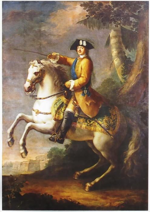 Франсуа Жувене (?) Портрет імператора Петра I