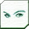 Девушка с зелеными линзами